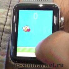 Удалось поставить популярную игру в часы  Apple Watch