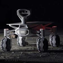 Audi будет участвовать в конкурсе Google Lunar XPRIZE создавая свой Луноход